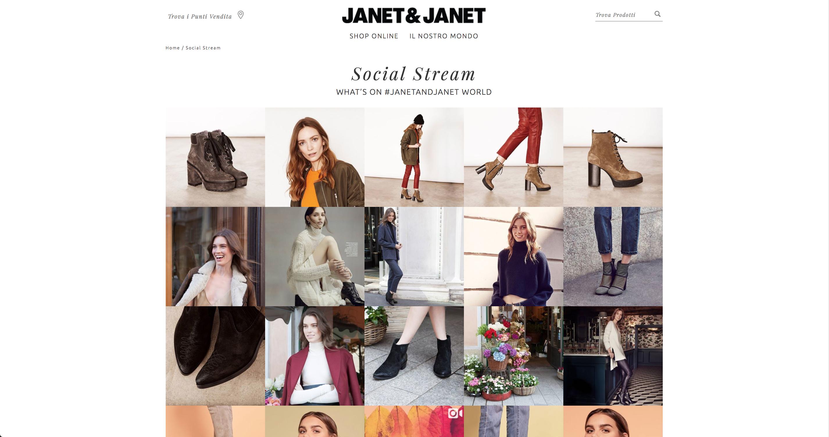 Janet & Janet social stram
